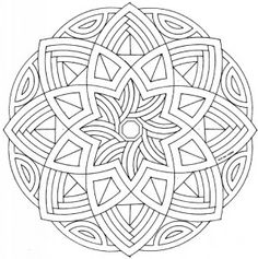 Mandalas budistas para imprimir (13)