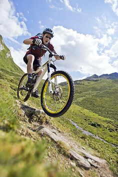 Mountain biking in the Dolomites requires some attention, and a new definition of mountain biking - article.