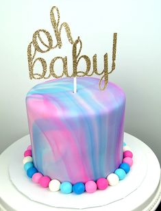 Absolutely perfect marbled gender reveal cake. Handsome Just Like Dad Baby Boy Short Sleeves Romper #baby #babycute #babylove #babystyle #babys #babies #babyboy #babygirl #babygirls #babylove #babyshop #babybump #babyclothes #babyfashionista #momtobe #babyswag #mybaby #mybabyboy #mybabygirl #babyfashion