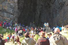 Outdoor concert at Helleren