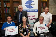 Minister for Care and Support Norman Lamb MP with carers representing MS Society