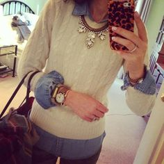 Carina Necklace + layers