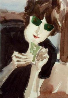 John 1971 by Elizabeth Peyton
