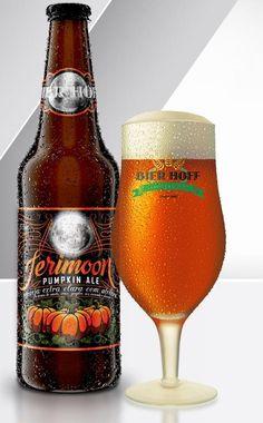 Cerveja Bier Hoff Jerimoon Pumpkin Ale, estilo Pumpkin Ale, produzida por Bier Hoff Micro Cervejaria, Brasil. 5.5% ABV de álcool.