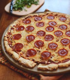For when you want a crust to make you feel like you're at an actual pizzeria.