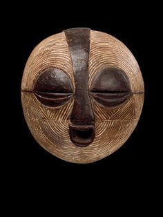 BALUBA MASK     Democratic Republic of the Congo - Early 20 th century
