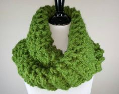 **In stock and ready to ship!**  This cowl is inspired by the knitwear seen on the TV series Outlander. It is gorgeous and so warm! Knit with bulky