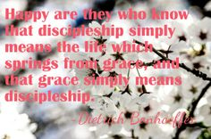 Bonhoeffer quote about discipleship Be Bold Quotes, Dietrich Bonhoeffer, Best Husband, Im Trying, Im In Love, Mirrors, Catholic, Sayings, Life