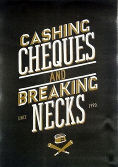 *New* Cashing Cheques - John James Scott — Designspiration
