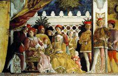 Andrea Mantegna, The Wedding Chamber, North Wall, 1474
