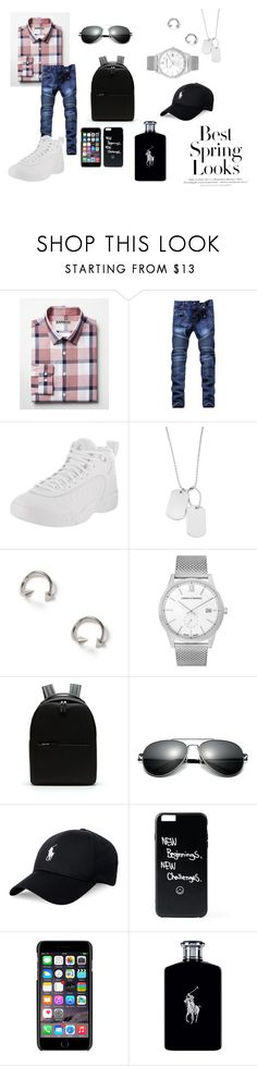 """Just Give Me A Reason"" by thelegend27 on Polyvore featuring Express, Jordan Brand, Variations, Topman, Larsson & Jennings, Lacoste, Polo Ralph Lauren, Dolce&Gabbana, Ralph Lauren and H&M"