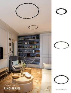 Trending in spotlights -Ring Series Modish recessed spotlights deliver high-quality energy-efficient functional lighting with its high-impact design, finish and uniqueness. Being ceiling installed from great heights, they illuminate vast areas magnificently scattering brightness and maximizing users comfort.  #spotlights #indoorlights #lumiindoor #lumibright