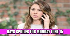 DAYS Spoiler for Monday June 15: Danger Lurks Check more at https://soapshows.com/days-of-our-lives/spoilers-days/june-15-2