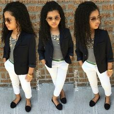 New Style Girl Swag Fashion Kids Ideas Little Girl Outfits, Cute Outfits For Kids, Little Girl Fashion, Cute Little Girls, Toddler Outfits, Cute Kids, Baby Girls, Toddler Girl Style, Toddler Fashion