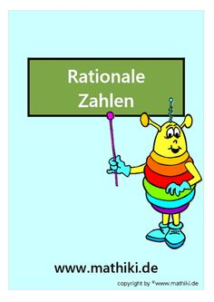 Besuche das Mathiki-Online-Camp. Hier findest Du Mathe-Arbeitsblätter zum Thema: Rationale Zahlen - ©2011-2016, www.mathiki.de - Ihre Matheseite im Internet #math #rational #arbeitsblatt #worksheet