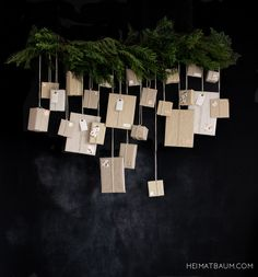 Adventskalender - HEIMATBAUM DIY, XMAS, Fleamarket, Ikea, natural Christmas