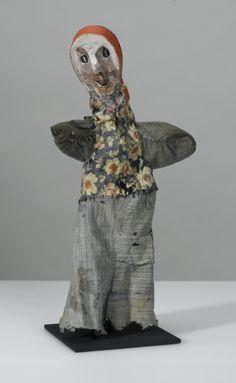Paul Klee (Swiss-German 1879-1940), Untitled hand puppet (The Shrewd Peasant Woman), 38 cm, 1925. Collection Zentrum Paul Klee, Bern.