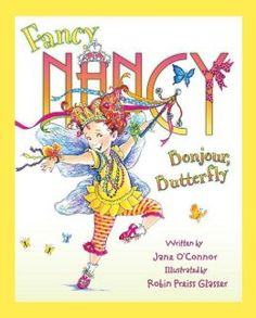 Fancy Nancy: Bonjour, Butterfly by Jane O'Connor. Follow the link and scroll through the Barnes & Noble  videos. http://www.barnesandnoble.com/u/online-storytime-books-toys/379003588