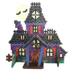 Haunted House Perler Bead Project Sheet