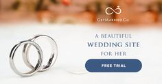 30-day free trial w/ #GetMarriedCo. Creating your #weddingwebsite #wedsite has never been easier. Try Now! http://getmarried.co/
