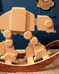 STAR WARS-Inspired AT-AT Rocking Horse