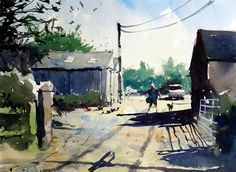 Farmyard south Gloucestershire by Tim Wilmot