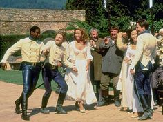 "Don Pedro, Benedick, Beatrice, Leonato, Antonio, Hero & Claudio in ""Much Ado About Nothing"""