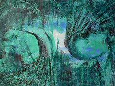 Abstract acrylic on paper....lifeforce...