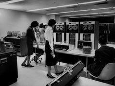 women, computers, IBM