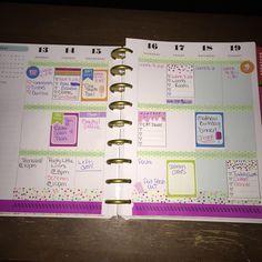 July 12-19 week in my Happy Planner!