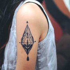 Alchemy Temporary Tattoo Sticker