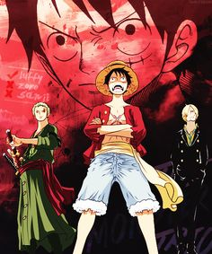 Monster Trio | One Piece