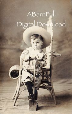 Digital Download, Vintage Photo, Cute Little Boy,  Victorian Clipart, Instant Download DD0488 by ABarnFullofOldStuff on Etsy