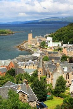 Oban is such a beautiful little spot. Oban, Argyll and Bute, Scotland