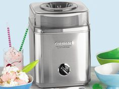 Pure Indulgence Frozen Yogurt, Ice Cream & Sorbet Maker (2-qt.) by Cuisinart