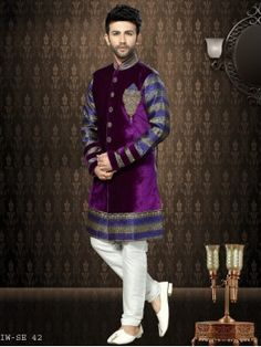 Beautiful Looking Indowestern Sherwani