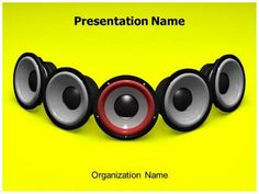 #TheTemplateWizard presents professionally designed Music Speakers #3D #Animated #PPT #Template. These royalty #free Music #Speakers animated powerpoint #backgrounds let you edit text and values and can be used for topics like #Concert, #Rock #Music, #Club, Rhythm and Music etc., for professional 3D animated PowerPoint #presentations.