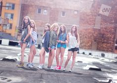 Audrey Woulard Photography tweens, shot on private rooftop at chicago loft in the West Loop.