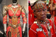 Francisco grew up in the Philippines, and one of his relatives had a lot of African artifacts and Filipino tribal decor in their house, so he considers the Dora Milaje's design very personal.