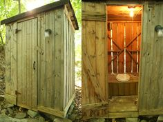 Yes, there is an Outhouse!