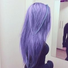 cute Teen pastel hair alternative girl PASTEL COLOURS lilac hair pale pastel goth scene girl scene
