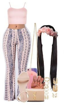 A fashion look from March 2017 featuring WearAll tops, Gypsy Soul and Yves Saint Laurent handbags. Browse and shop related looks. Boujee Outfits, Baddie Outfits Casual, Swag Outfits For Girls, Teenage Girl Outfits, Cute Swag Outfits, Cute Comfy Outfits, Teen Fashion Outfits, Girly Outfits, Simple Outfits