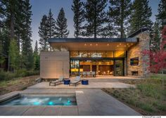 35+ Modern Pool House Design to Inspire You to Realize Your Dream