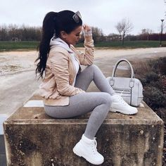 winter outfits sporty Outfits fresitas que hasta l - winteroutfits Mode Timberland, Timberland Outfits, Timberland Heels, Timberland Fashion, Timbs Outfits, Daily Fashion, Teen Fashion, Fashion Outfits, Womens Fashion