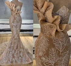 New Arrival Long Mermaid Champagne Glitters Abendkleider Arabic Evening Dress 2019 Robe De Soiree Longue 2018 Musulman _ {categoryName} - AliExpress Mobile Version - African Lace Styles, African Lace Dresses, Latest African Fashion Dresses, Evening Dresses For Weddings, Cheap Evening Dresses, Wedding Dresses, Purple Evening Gowns, Designer Wedding Gowns, Gala Dresses