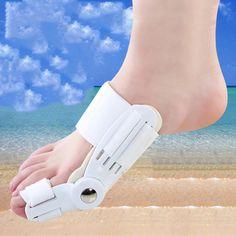 Day + Night Bunion Splint Toe Care Corrector Hallux Valgus Straightener Foot