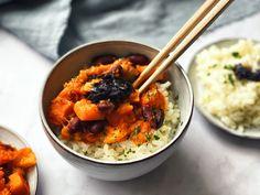 Dýně s fazolemi a rýží | Dobré bio Ethnic Recipes, Food, Essen, Meals, Yemek, Eten