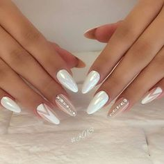 This series deals with many common and very painful conditions, which can spoil the appearance of your nails. SPLIT NAILS What is it about ? Nails are composed of several… Continue Reading → Cute Nails, Pretty Nails, My Nails, Bride Nails, Wedding Nails, Rose Wedding, Fall Wedding, Perfect Nails, Gorgeous Nails