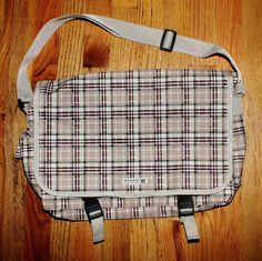 Sperry Top Sider Satchel Cross Body Plaid Book Bag #Sperry #books #Satchel