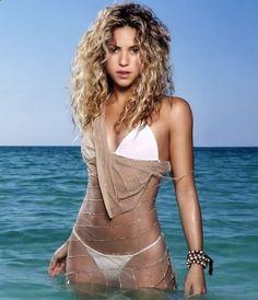 Shakira: Shakira Isabel Mebarak Ripoll, a Colombian singer and dancer, looks such a vision in her white bikini and thong. See more of : Shakira Rihanna, Shakira Mebarak, Alison Mosshart, Kylie Minogue, Bikini Pictures, Female Singers, Beautiful Celebrities, Jennifer Lopez, Sexy Bikini
